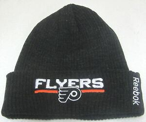 hot sale online ee2cc b8704 Image is loading NHL-Philadelphia-Flyers-Dark-Gray-One-Size-Fits-