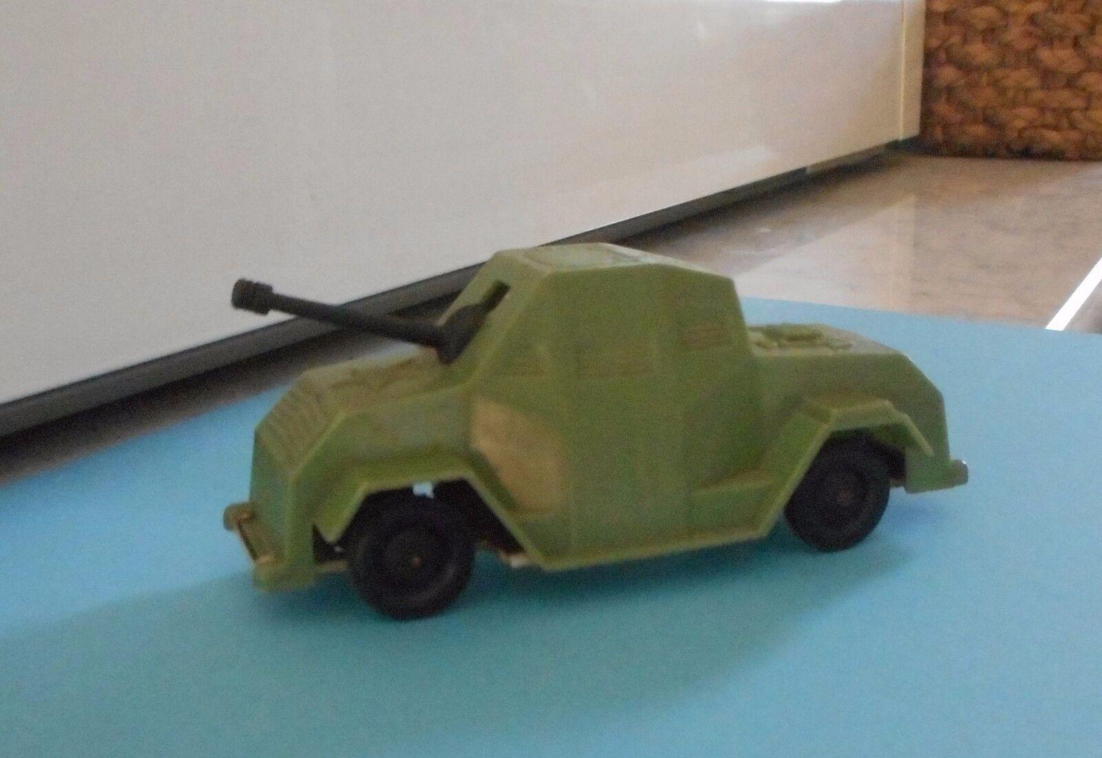 Vintage y Ultra Raro Plástico Tanque de estaño coche Auto Yugoslavia
