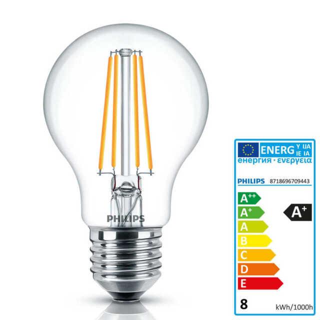 Philips LED Lampe Classic D8-60w A60 E27 CLA Ledbulb#70944300   eBay
