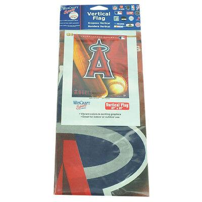 Fanartikel Rational Mlb Los Angeles Vertikal Flagge 68.6cmx94cm Spiel Tag Rot Fan La Innen Außen Weitere Ballsportarten
