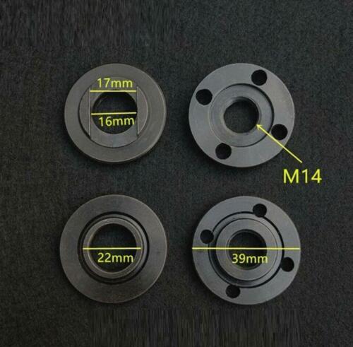 M14 Thread Angle Grinder Flange Nut Set Inner /& Outer Metal Lock Nuts Tools 2pcs