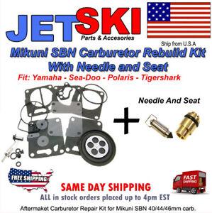 Mikuni SB Carb Rebuild Kit SeaDoo HX XP SP SPI SPX GS GSI GSX GTS GTI GTX JETSKI