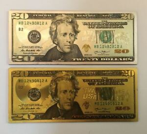 Image is loading 2PC-20-Dollar-Bill-Money-Patriotic-Souvenir-Office-  sc 1 st  eBay & 2PC $20 Dollar Bill Money Patriotic Souvenir Office Door Board ...