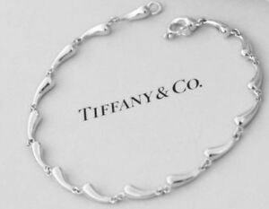 4395d19d13554 Details about Tiffany & Co. Elsa Peretti Sterling Silver 7.25