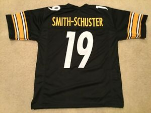 best authentic 7786b 3bcc4 Details about UNSIGNED CUSTOM Sewn Stitched JuJu Smith Schuster Black  Jersey - M, L, XL, 2XL