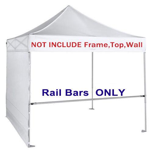 2pcs Support Hardware Rail Bar W/carry Bag for 10x10 EZ Pop up ...