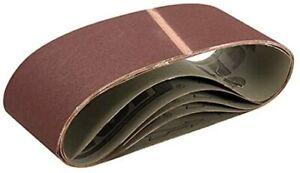 Triton TPTA12750676 75 x 533 mm 80 Grit Sanding Belt - Multi-Colour (Pack of 5)