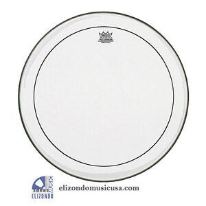 """Remo Ps-1322-00 Pinstripe Clear 22"""" Bass Drum Head Upc 757242212547-afficher Le Titre D'origine Convient Aux Hommes, Femmes Et Enfants"""