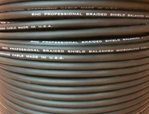 US-MADE MIC5.K 20 GA HIGH PERFORMANCE Mic Bulk Cable, 500 ft    FREE US Shipping