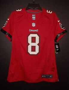 5bb0bb89 Mike Glennon Tampa Bay Buccaneers Women's Large Red Nike Game Jersey ...