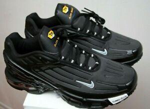Détails sur Nike Air Max Plus TN 3 Chaussures Black Cushion Chaussures De Course Baskets ^ TOP NEUF afficher le titre d'origine