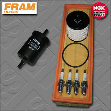 SERVICE KIT CITROEN C3 1.4 8V PETROL FRAM OIL AIR FUEL FILTERS PLUGS (2004-2010)