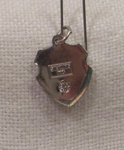 Florida Sailboat Bracelet Charm NOS Vintage REU Sterling//Enamel Bahia Mar