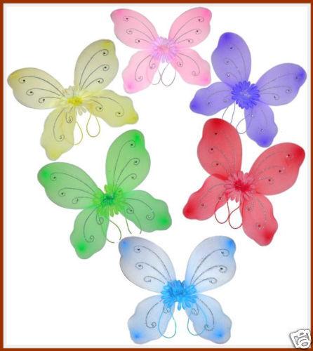 FLOWER /& JEWELRY WING~*~9 WINGS~*~FAIRY ANGEL DRESS UP