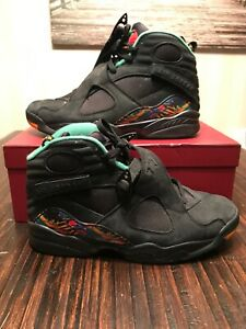 newest 330fb 3883c Details about Air Jordan Retro 8 Tinker Air Raid Black Basketball Sneakers  305381-004 Size 11