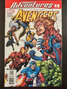 MARVEL-ADVENTURES-1-The-Avengers-2006-MARVEL-Comics-VF-NM-Book