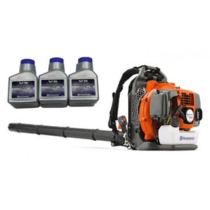 Husqvarna 350BT Backpack Blower Gas Powered Variable Speed w/ XP Oil