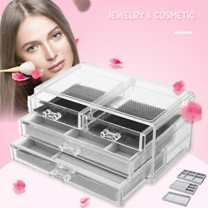 Drawer-Storage-Jewelry-Ring-Collection-Box-Flannel-Tray-Holder-Organizer