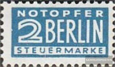 PräZise Bizone (alliierte Besetzung) Z8 Z Zwangszuschlag Postfrisch 1954 Notopfer Berlin