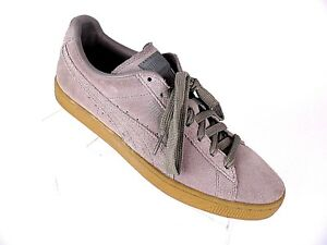 b224dc08d84b PUMA Mens Size 8.5 Suede Classic Tan Sneakers Lace Up Shoes 363242 ...