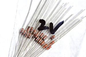 25-valore-del-diodo-Zener-0-5-WATT-da-2v-a-43v-venduti-in-confezione-da-10