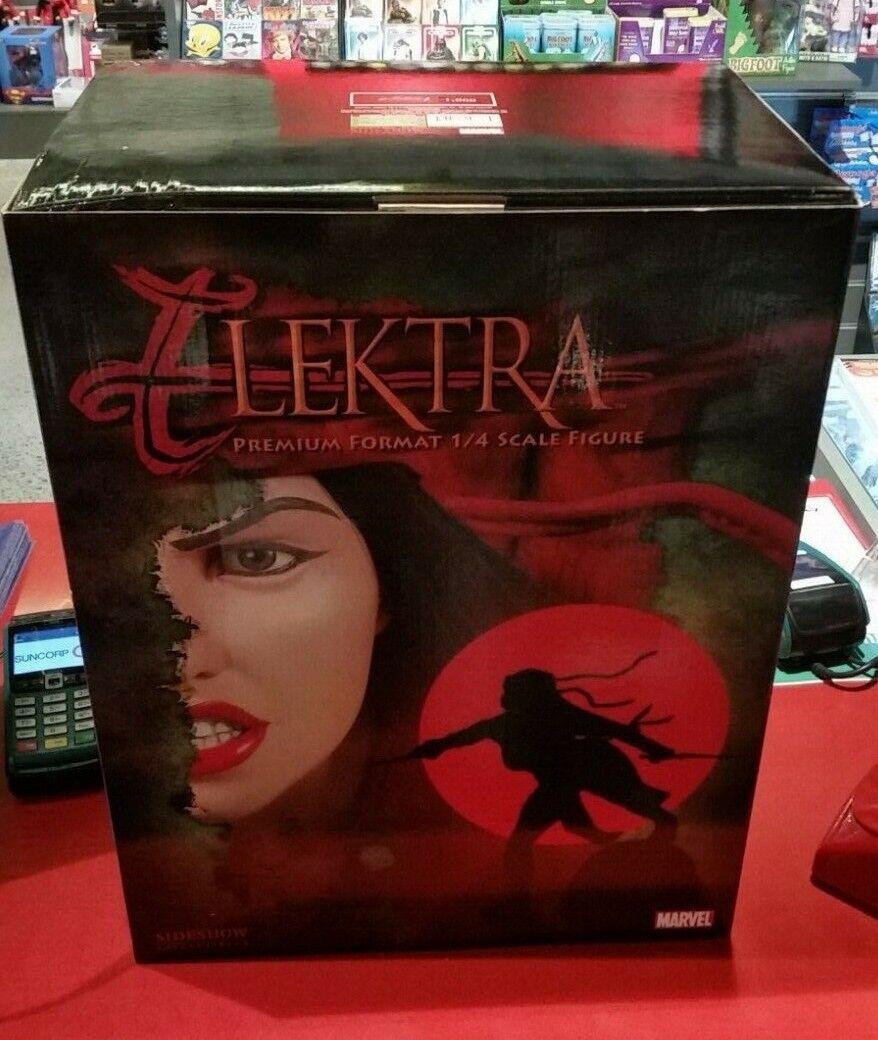 Marvel Elektra, edición de edición avanzada, edición limitada de números, 35 Cass 504 SideShow.