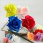 Diameter-7cm-Artificial-Rose-Bouquet-Silk-Flowers-Floral-Wedding-VARIOUS thumbnail 2