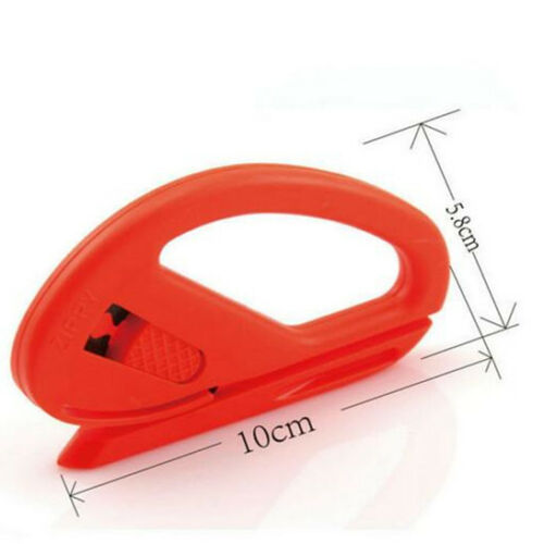Universal Snitty Safety Vinyl Cutter 3M Felt Edge Squeegee 4x Car Wrapping Tool