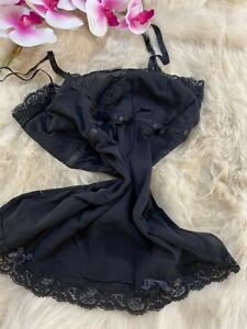 EXTYN  black Camisole Top sleepwear nightwear size L us38 it5 eu85