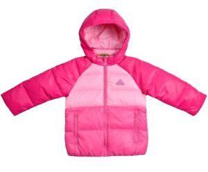 Details about Adidas Girls Down Jacket Winter Jacket Baby down jacket girls parka PinkPink show original title