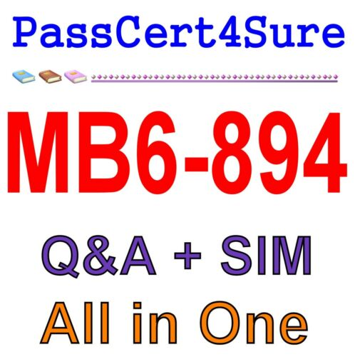 Best Exam Practice Material For MB6-894 Q/&A+SIM