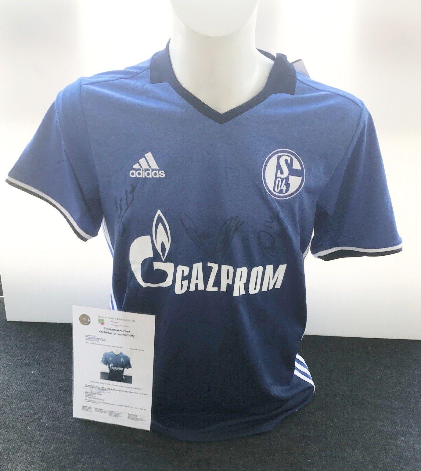 FC Schalke 04 Trikot 2016 2017, Teamsigniert, S04, gr. M