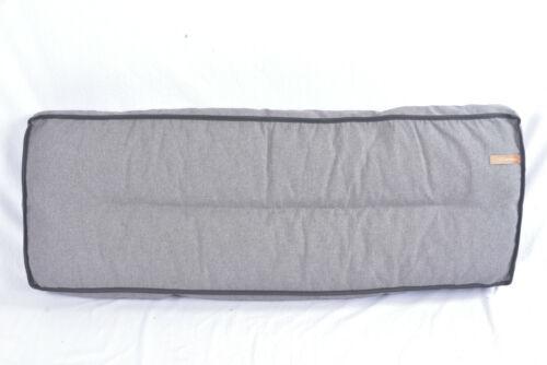 Tavolozze Cuscino rückkissen per tavolozze SOFA 120x40x12cm lavabile cuscino grigio Per il giardino