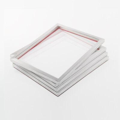 4x 72T Siebdruckrahmen 61x51cm A3+ | Für Siebdruck auf Textilien o. Kunststoff