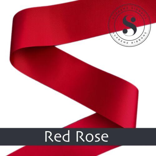 "Supreme Christmas Ribbon 3 Inch Grosgrain Ribbon 3/"" 75mm craft ribbon"