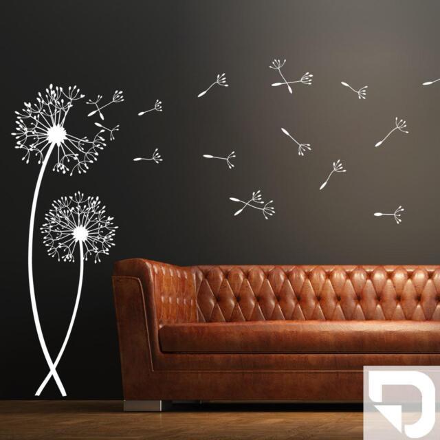 wandtattoo pusteblumen traumhafte pusteblume als wanddeko designscape