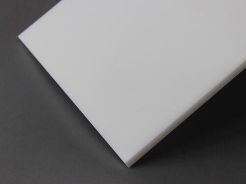 PTFE Kunststoff Platte weiß 185x50x50 mm Rest Stück