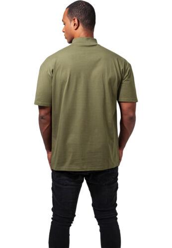 Réduit Urban Classics Pull T-Shirt Col Montant Pull Col Roulé Chemise