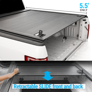 Smittybilt Trifold Tonneau Cover for 2007-2020 Toyota Tundra Crew Cab 5.5 ft bed