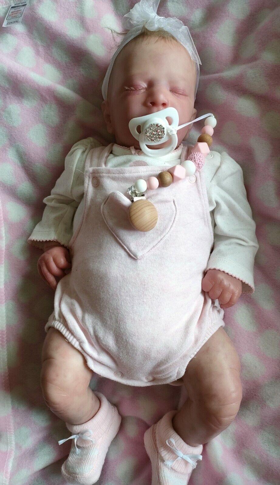 Realborn Alexa Asleep By Bountiful Baby Artist Natalie Scott