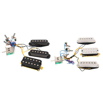 Wondrous Guitar Wiring Harness Kit Single Coil Pickup Humbucker 3 Way Toggle Wiring Digital Resources Ommitdefiancerspsorg
