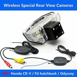 a816 wireless car rear view backup camera for honda cr v