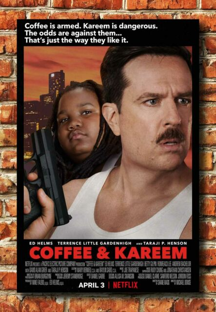 W-90 Coffee & Kareem 2020 Movie Print Poster Silk Art 30 ...