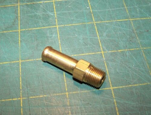 "EDELMANN 820250 5//16/"" Clamp Style Hose Fitting x 1//8/"" Pipe Thread"