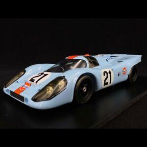 Porsche 917 K  24h du Mans 1970 n° 21 Gulf Racing Rodriguez Kinnunen1/18 Spark 1
