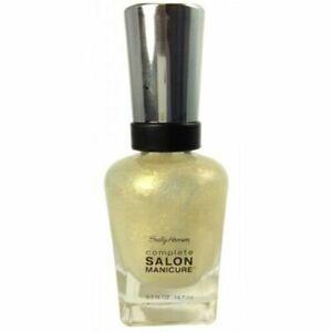 ⭐ SALLY HANSEN COMPLETE SALON MANICURE NAIL POLISH 180 DEBUT TINT ...