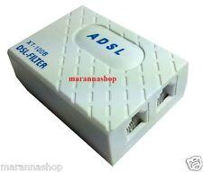 FILTRO ADSL RJ11 TELEFONO TRIPOLARE MODEM PRESA TELEFONICA SPLITTER PLUG ALICE
