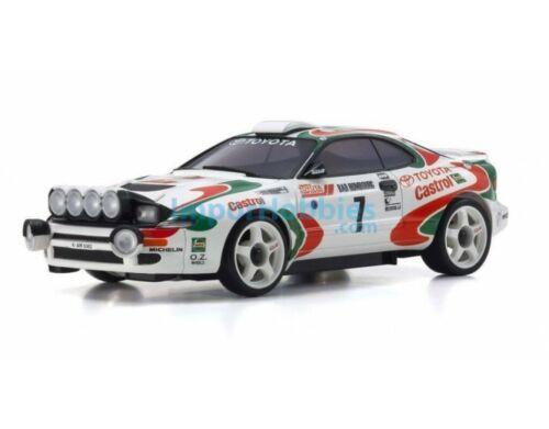 Carrocería pintada 90mm Kyosho Mini-Z AWD Toyota Celica Turbo WRC No.7 WRC 1993