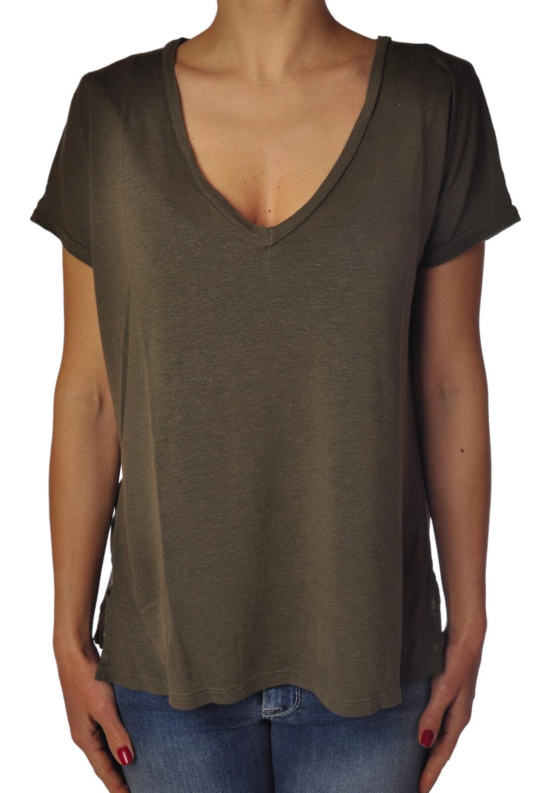 Soallure - Topwear-T-shirts - woman - Grün - 774017C184232