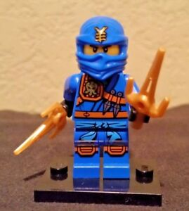Lego Ninjago Minifigure Jungle Jay From Set # 70749 with Weapons